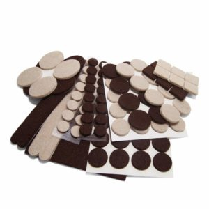 Felt Furniture Pads (113 Piece Two Color Combo)