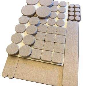 Felt Furniture Pads (113 Piece Combo)